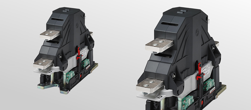 1 pole bi-directional high-voltage contactors, disconnectors, changeover switches for DC and AC