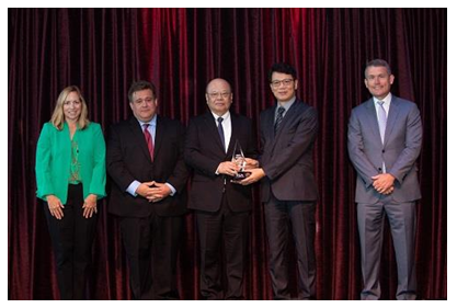 "Delta Awarded ""2019 Powertrain Supplier of the Year"" by FCA  for its Superior EV/PHEV Automotive Product Capabilities"