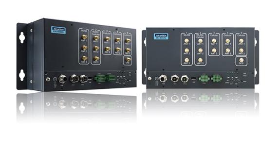 EKI-9502G: Автоматически активируемое беспроводное решение для резервирования непрерывной связи между шкафами и поездами.