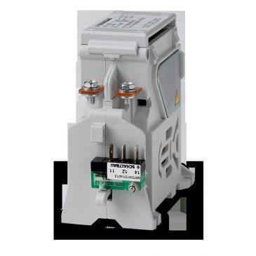 Контактор предварительной зарядки для испытательного стенда электродвигателя . C294 – двухполюсный контактор постоянного тока, выполненный как контактор предварительной зарядки.