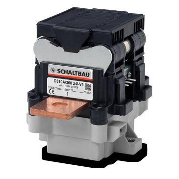 Главные контакторы постоянного тока для промышленных систем хранения . C310 отключает батарейный блок от инвертора