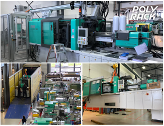 EXPANSION OF CAPACITY – POLYRACK EXPANDS MACHINERY IN THE FIELD OF PLASTICS TECHNOLOGY